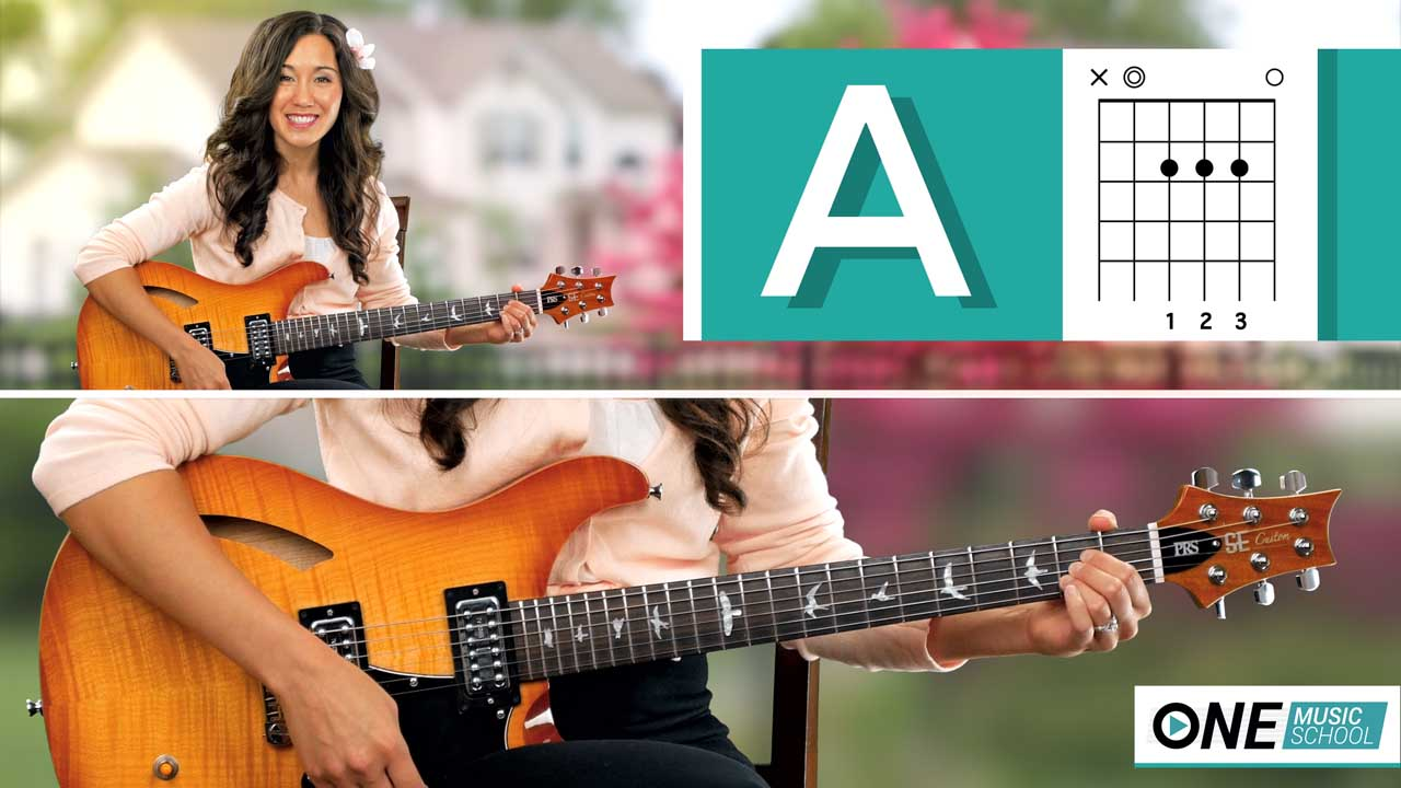 How to play an A Chord on guitar