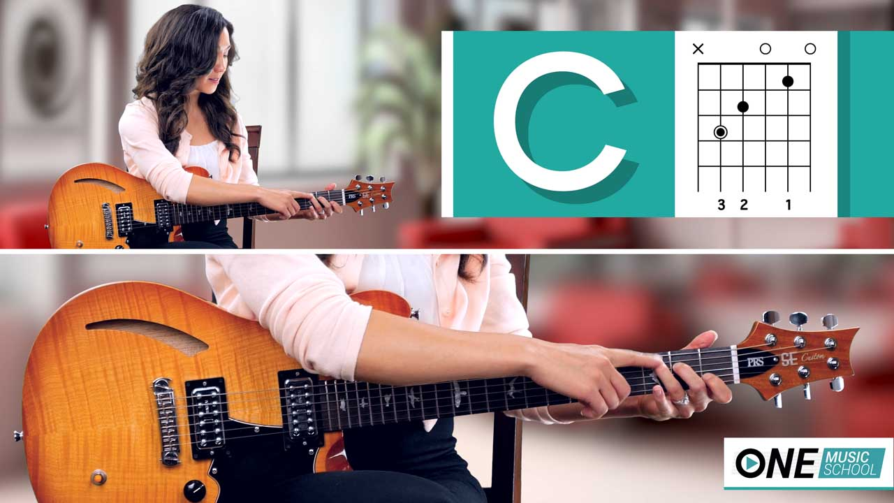 How to play a C Chord on guitar