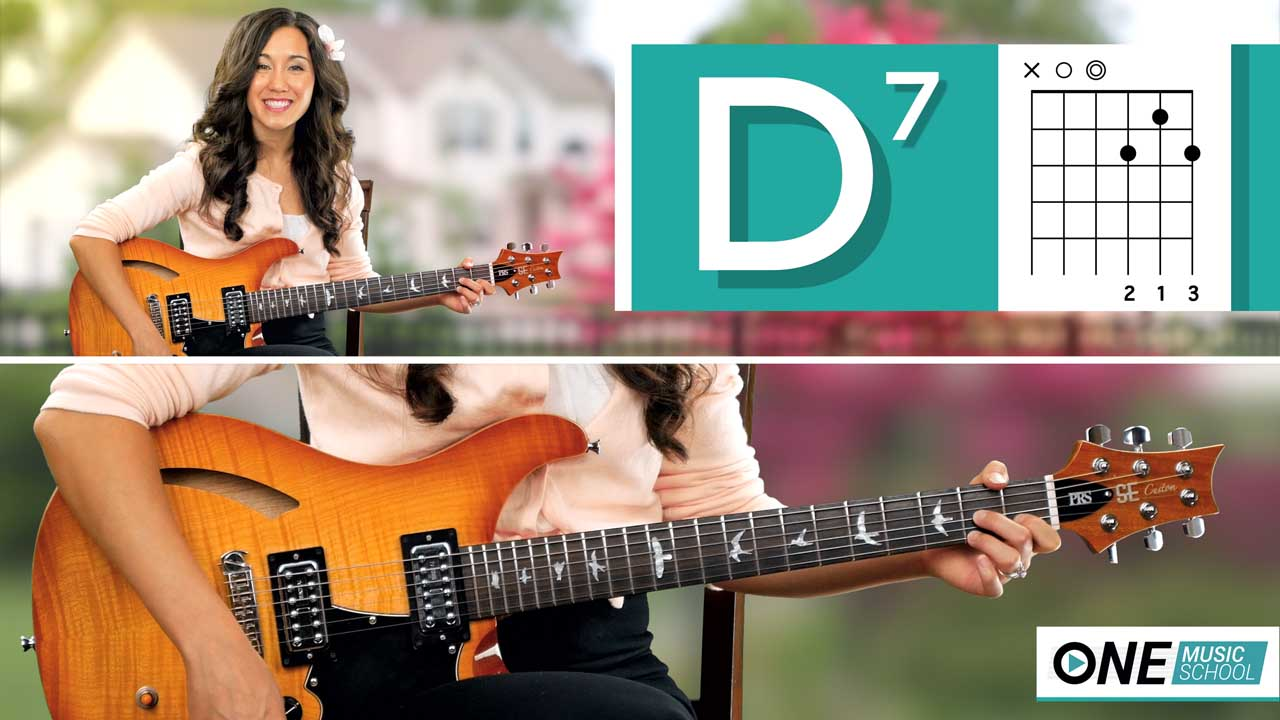 Katie DeNure | How to Play D7 on Guitar