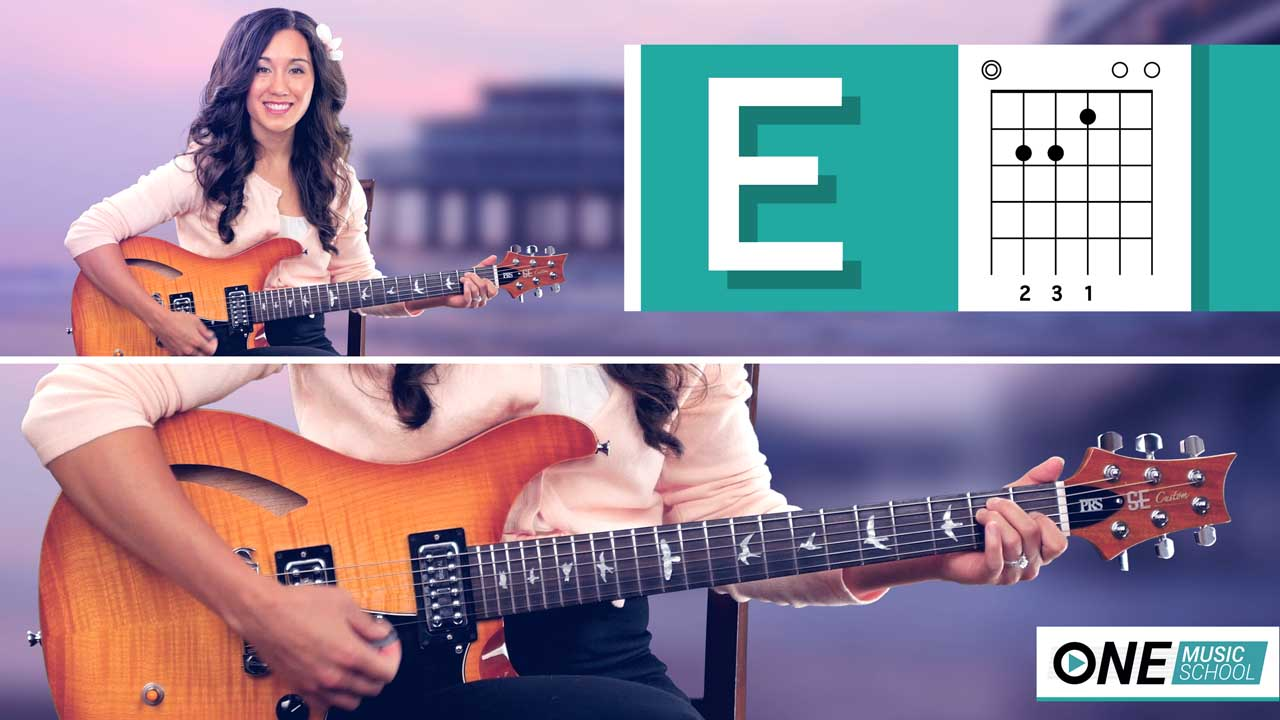 How to play an E Chord on guitar