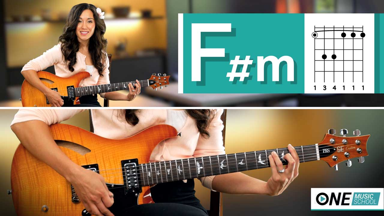 How to play an F#m Chord on guitar